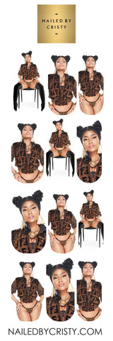 Decals- Nicki Minaj Chun Li