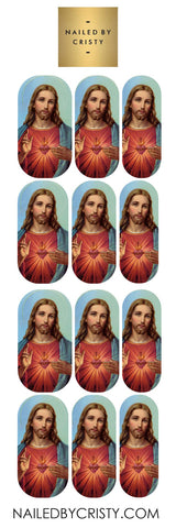 Decals- Sacred Heart of Jesus