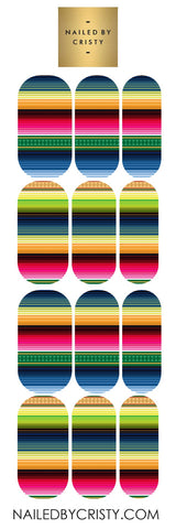 Decals- Mexican Blanket Pattern