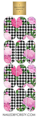 Decals- Houndstooth Floral