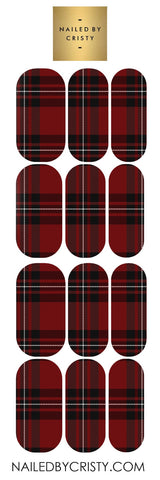 Decals- Red Plaid