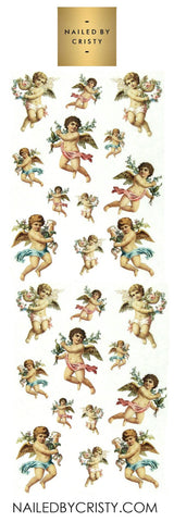 Decals- Cherubs 2 CLEAR