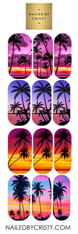 Decals- Summer Sunset