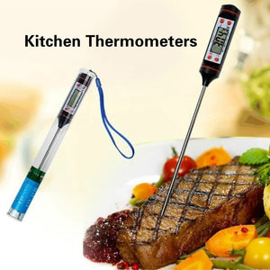 Digital Kitchen Thermometer For Meat Water Milk Cooking Food Probe BBQ Electronic Oven Thermometer Kitchen Tools