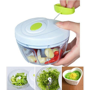 1pc Multifunctional Useful Salad Crusher Manual Meat Grinder Fruit Twist Shredder Vegetable Meat Cutter Spiral Slicers Food Garl