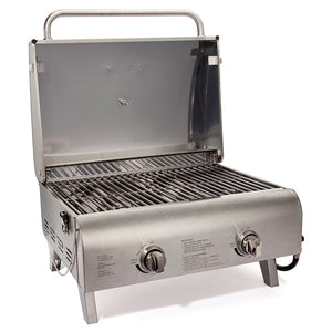 Chefs Style Stainless Tabletop Gas Grill