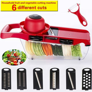Household Multi-function Fruit and Vegetable Cutting Machine Simple and Convenient Cleaning Manual Cutting Machine Kitchen Tool