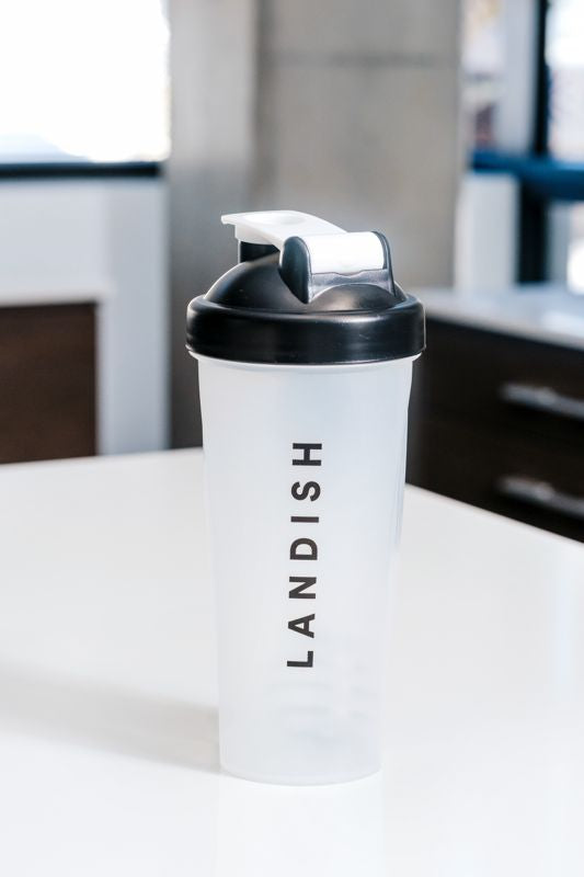 Landish Shaker Bottle