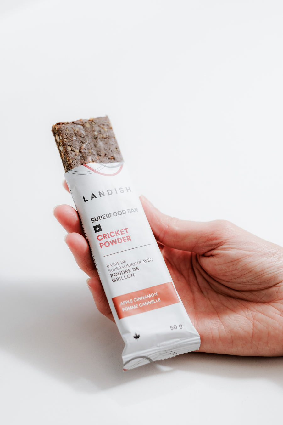 Apple Cinnamon Cricket Powder Protein Bar
