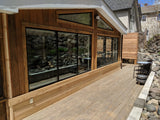 Cedar Sun Room with Deck