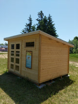 9' x 11' solid wood shed