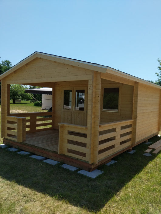 13'x19' Solid wood bunkie