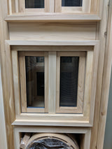 "16""x16"" Manitoulin Cedar Window by Morrison"