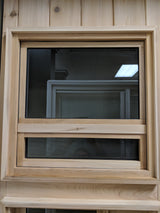 "24""x24"" Solid Cedar Window"