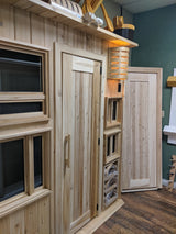 Cedar Sauna Display