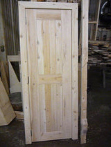 Cedar Doors for Saunas and Sheds