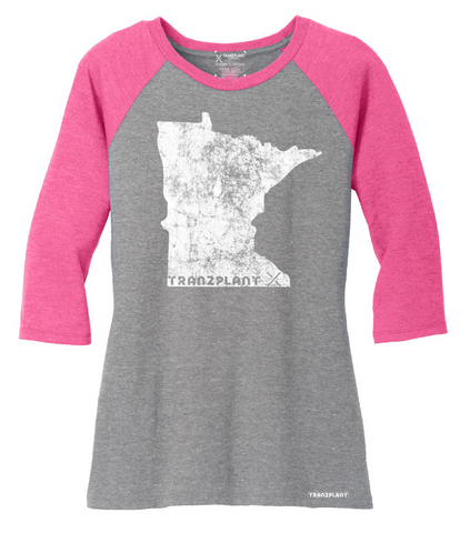 HEN AND CHICKS WOMEN'S RAGLAN - Tranzplant Clothing Co