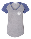 SUNBURST WOMEN'S RAGLAN - Tranzplant Clothing Co