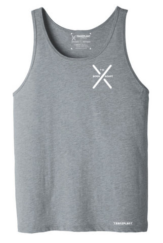 THREAD GRASS UNISEX TANK - Tranzplant Clothing Co