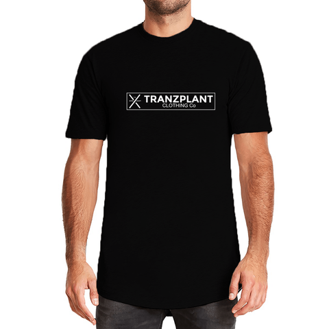 LONG BODY CREW T-SHIRT - Tranzplant Clothing Co