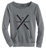 COTTON-TOP LADY'S SWEATSHIRT - Tranzplant Clothing Co
