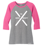 TOPSY TURVY WOMEN'S RAGLAN - Tranzplant Clothing Co