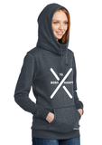 ALOE VERA WOMEN'S FLEECE HOODED PULLOVER - Tranzplant Clothing Co