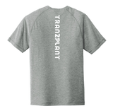 BLUE FINGER MEN'S ACTIVE TEE - Tranzplant Clothing Co