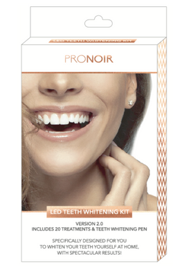 ProNoir | LED Teeth Whitening Kit 2.0 Incl. Teeth Whitening Pen