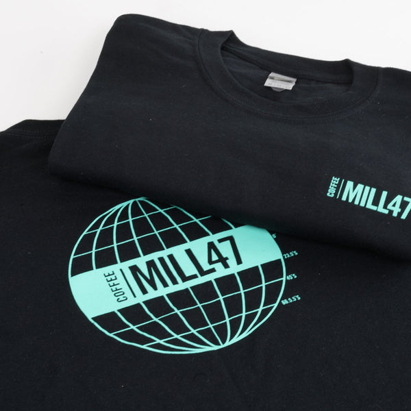 Short Sleeve T-Shirt Swag Mill47 Coffee