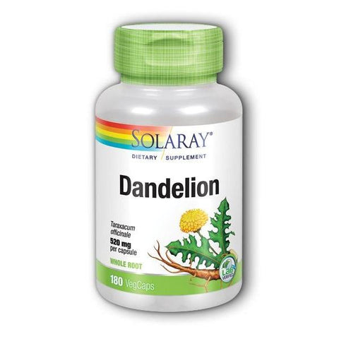 DANDELION ROOT 520 MG 180
