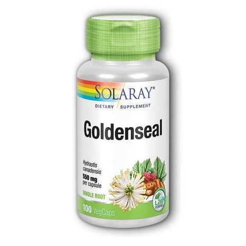 GOLDENSEAL ROOT 550 MG 100