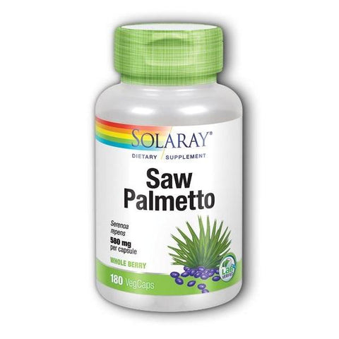 SAW PALMETTO BERRIES 580 MG 180