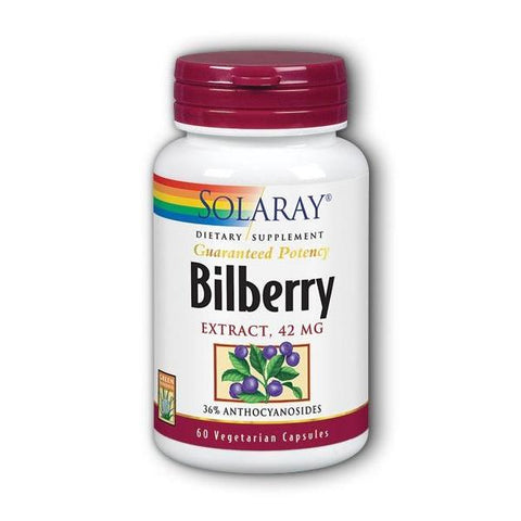 BILBERRY EXTRACT 42 MG 60