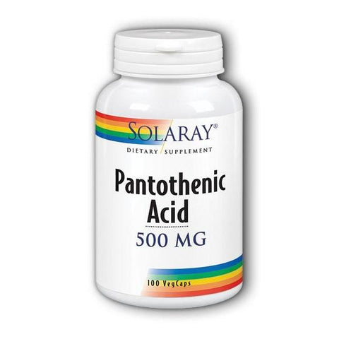 PANTOTHENIC ACID 500 500 MG 100