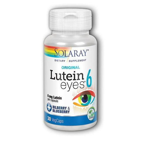 LUTEIN EYES 6 6 MG 30