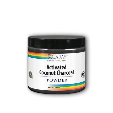 ACTIVATED COCONUT CHARCOAL PWDR 265 OZ