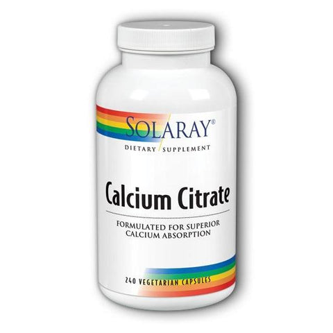 CALCIUM CITRATE 250 MG 240