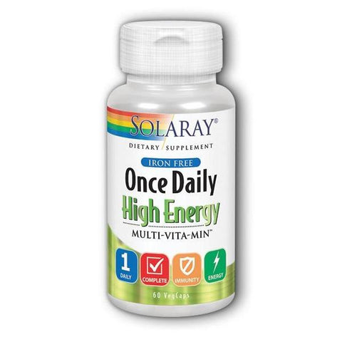 ONCE DAILY IRON FREE 0 60
