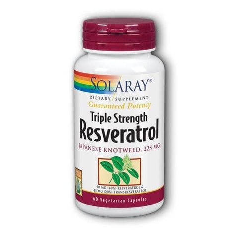 TRIPLE STRENGTH RESVERATROL 225 MG 60 VCAPS