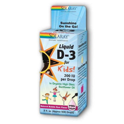 LIQUID D 3 FOR KIDS 0.5