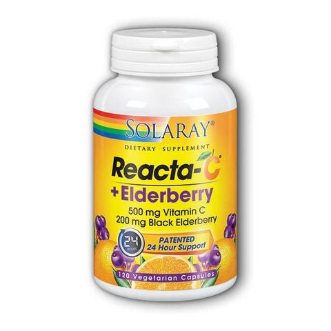 REACTA C + ELDERBERRY 120 VC