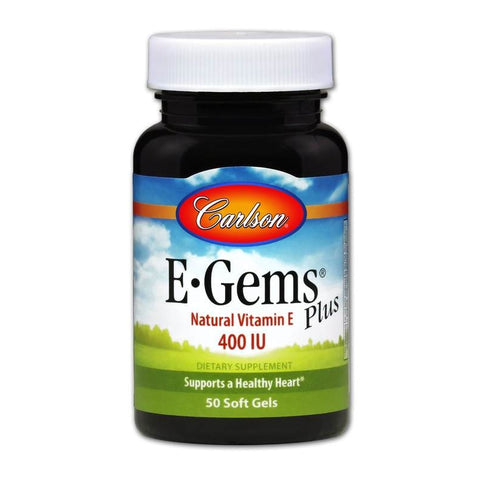 E GEMS PLUS 400 IU 50 SOFT GEL