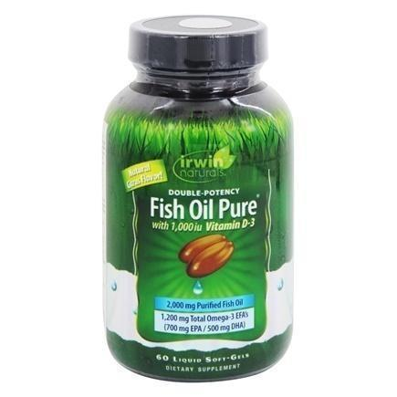 DOUBLE POTENCY FISH OIL PURE