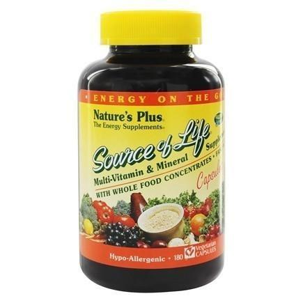 SOURCE OF LIFE CAPSULES 180