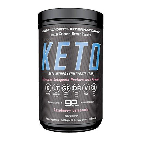 KETO BETA-HYDROXYBUTYRATE BHB SALTS RASPBERRY LEMONADE