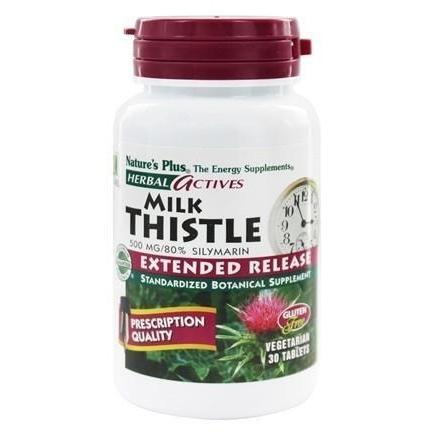 EXTENDED RELEASE MILK THISTLE 500 MG 30
