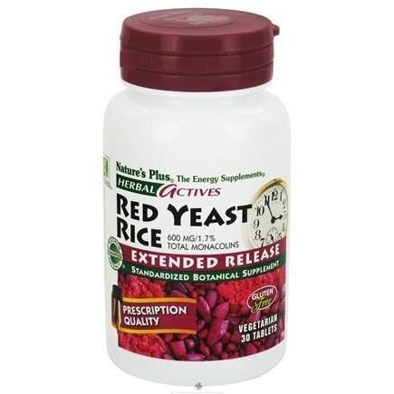 EXTENDED RELEASE RED YEAST RICE 600 MG