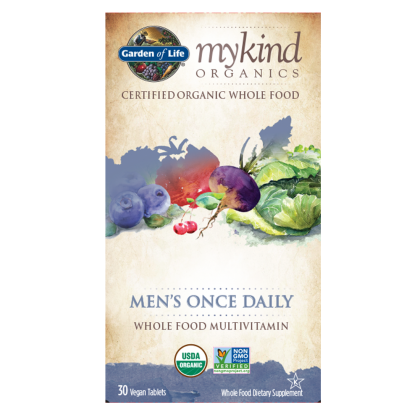 KIND ORGANICS MENS ONCE DAILY 30 CT