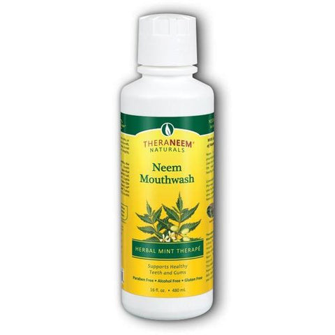 NEEM MOUTHWASH MINT 16 OZ